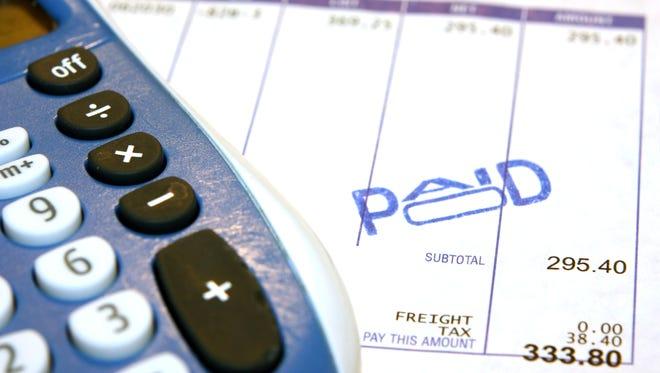Paid bill