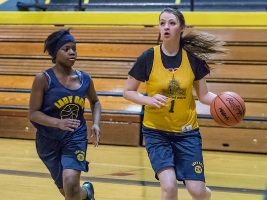 Battle Creek Central's Alyssa Miller is a transfer student from Ohio and will join the Bearcats next week.