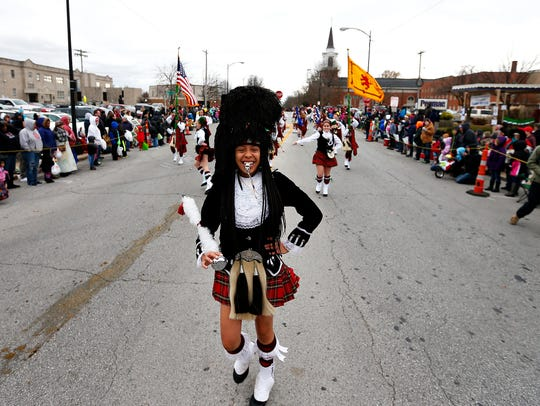 The girls who keep Central's Kiltie tradition alive must pay for their own uniforms and repairs as well as costs associated with traveling to events.
