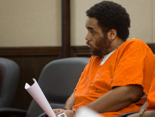 Nigel Green who is charged with capital murder in the