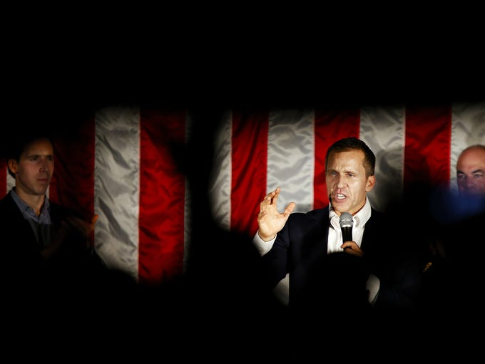 Then-candidate for Missouri Governor Eric Greitens