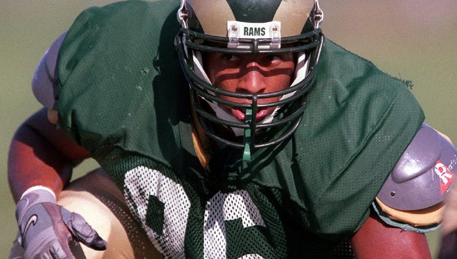 Former CSU football player Clark Haggans was picked in the fifth round of the 2000 NFL draft and played 13 seasons in the NFL and won a Super Bowl.