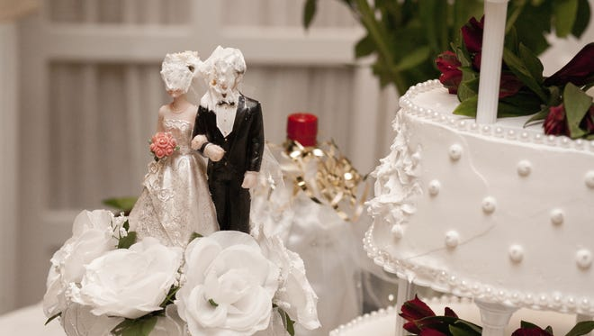 It wasn't all love and flowers at a Middletown wedding after a fight broke out and one person was arrested Sunday night.