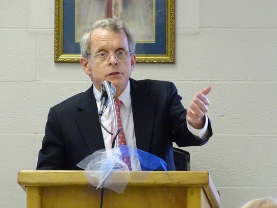 Ohio Attorney General Mike DeWine outlined Wednesday