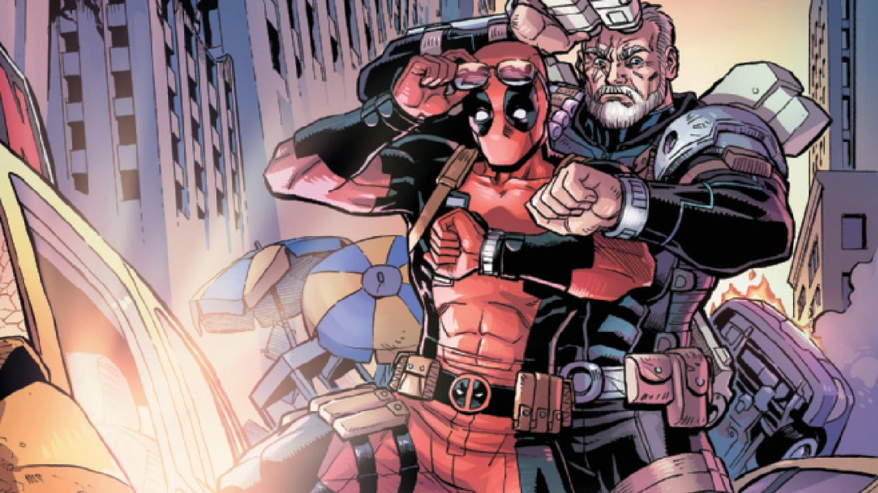 Deadpool and Cable, funny (and lonely) together