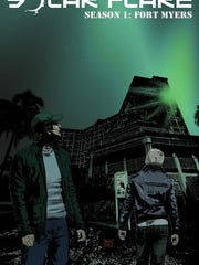 """The original cover of """"Solar Flare - Volume 1. The  graphic novel """"Solar Flare - Season 1: Fort Myers"""" combining issues 1 through 6 was to go on sale mid-October."""