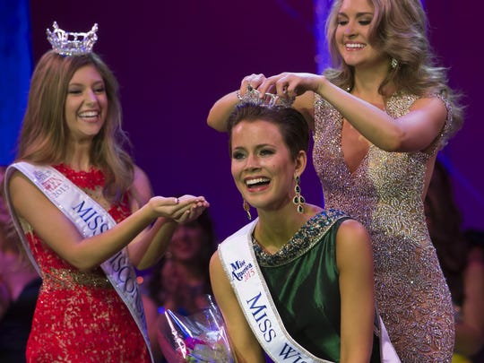 Miss New Berlin Rosalie Smith was crowned the new Miss