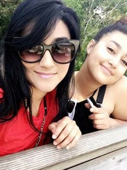 Lourdes Flor De Leake, left, and her daughter Melanie