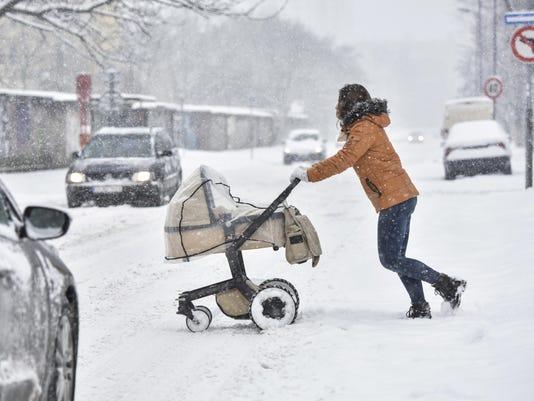 Slovakia Weather Snow
