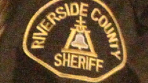 FILE- A Riverside County Sheriff's Department patch.
