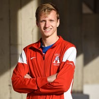 Apollo soccer player Leighton Lommel has been named the Times' All-area player of the year. Lommel was photographed Friday, Nov. 20 at the school.