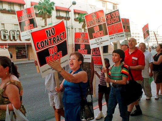 Casino worker strike 2002