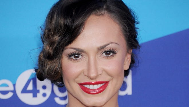 Karina Smirnoff arrives at the 1st Annual Unite4:Humanity event at Sony Studios.