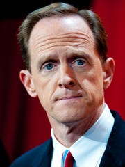 Senate Republican candidate Pat Toomey  (Photo by Jeff