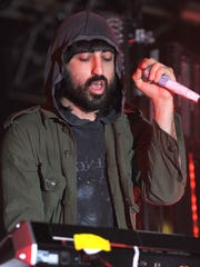 Ethan Kath (Claudio Palmieri), 34, a songwriter and producer of Canadian music group Crystal Castles.