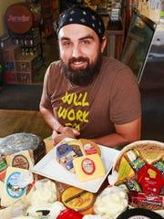 Joe Lange of Wisconsin Cheese Mart says his favorite burger cheese is Wild Morel and Leek Jack, Kase Meister Creamery.