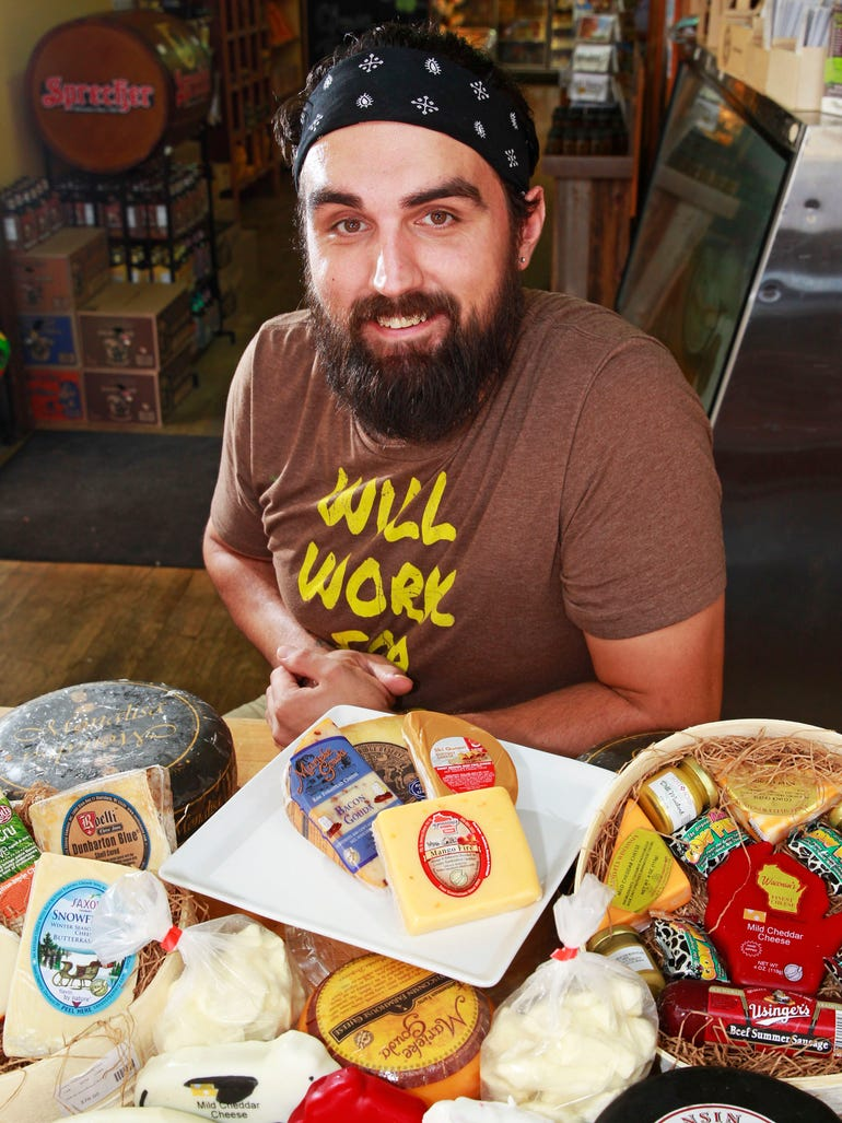 Joe Lange of Wisconsin Cheese Mart says his favorite