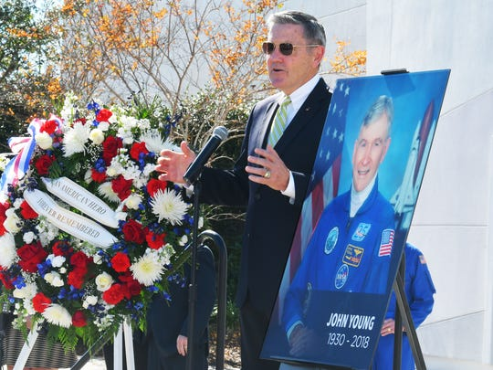 KSC Director and former Astronaut Bob Cabana. A remembrance