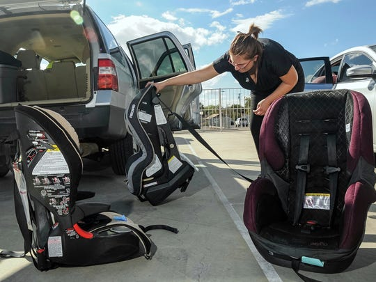 The New Mexico Department of Transportation and Safer New Mexico Now will host a child safety seat fitting station from 4 to 6 p.m. on Dec. 4.