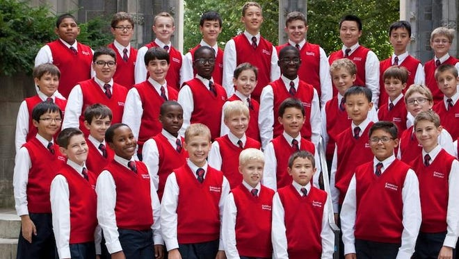 The choir, consisting of boys in grades 4 though 8, are from all over the country and reflect the diversity of ethnic and religious backgrounds of the greater population.