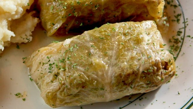 Sarma (cabbage rolls) will be served at a Bosnian lunch at Norway House in West Allis.