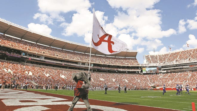 The list of banned items at Bryant-Denny Stadium will grow this year.