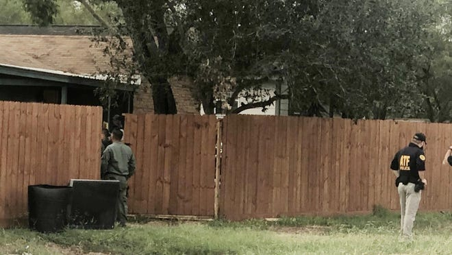 HSI and ATF were at a residence on the 4500 block of FM 1329 in San Diego.