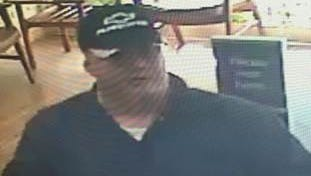 Authorities are looking for this man in connection with a bank robbery in Osyka.
