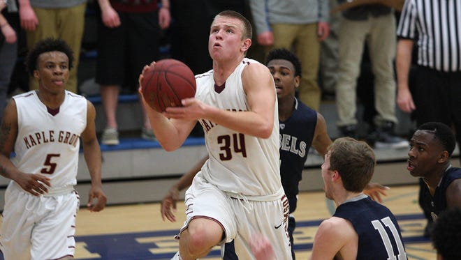 Brad Davison of Maple Grove High School in Osseo, Minn. was one of three signees for the Badgers Wednesday.