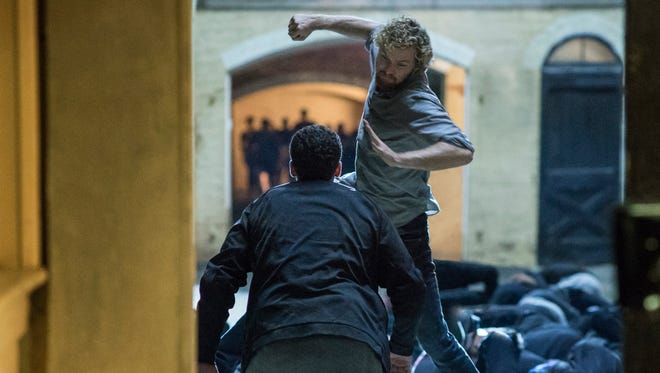 Daniel Rand (Finn Jones) will have to kick twice as much butt to compensate for that hair in 'Marvel's Iron Fist.'