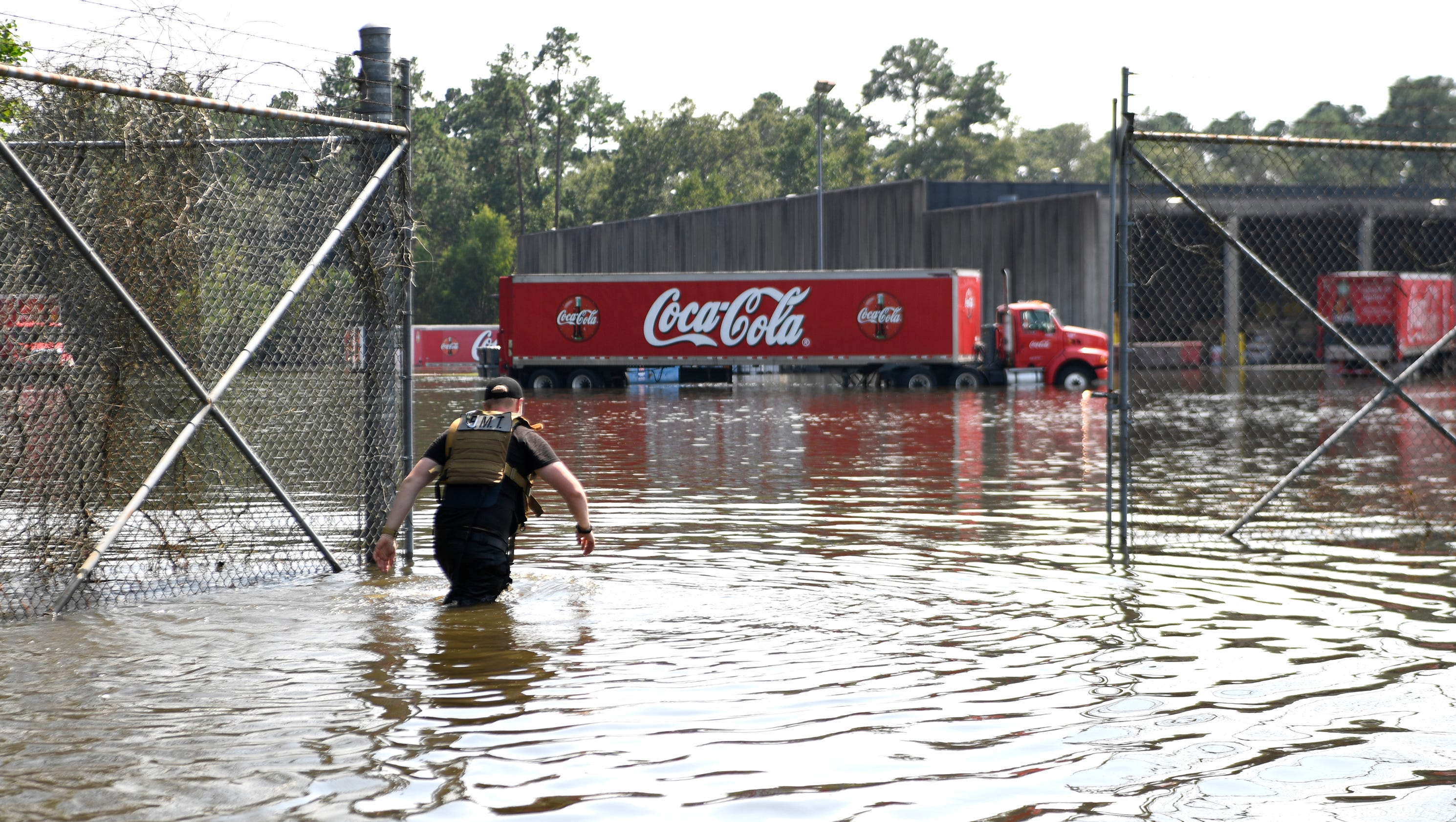 Coca-Cola grants permission to two men In Beaumont, Texas -- a city with no water -- to steal bottled water from the company's warehouse