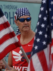 Ron Green of Team RWB was spotted at the Firecracker