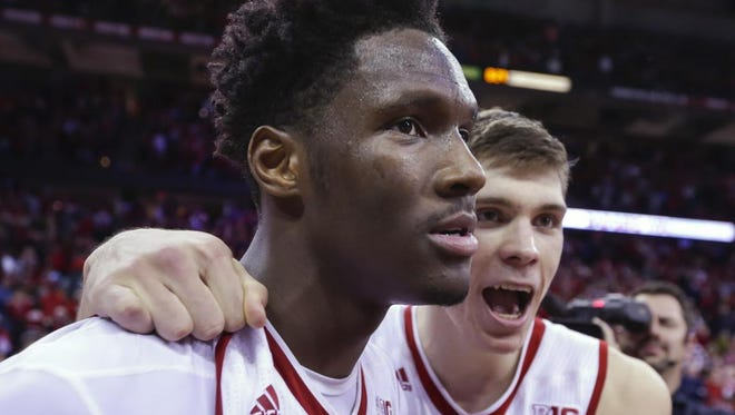 Nigel Hayes has withdrawn his name from the NBA Draft and will return to the University of Wisconsin for his senior season.