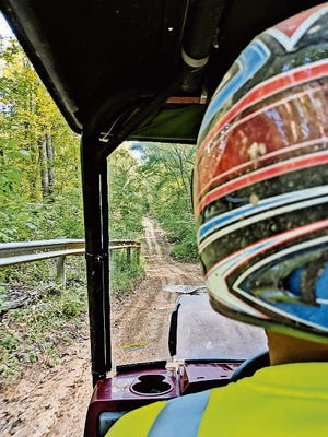 Finger Lakes State Park has 900 acres for off-road exploring.