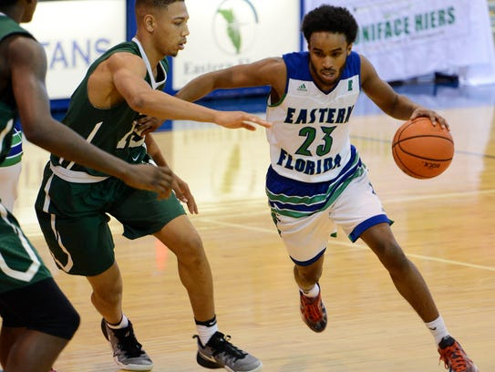 Ahmed Ali made 230 3-pointers during his two years at Eastern Florida, most in school history.