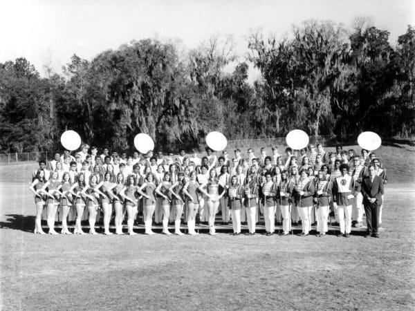 You may be surprised to know that this is the Rickards High School band, circa 1971.