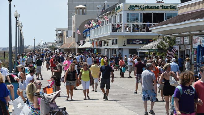 About 8 million tourists visited Delaware in 2014, setting a new high-water mark for the First State, according to a new report.