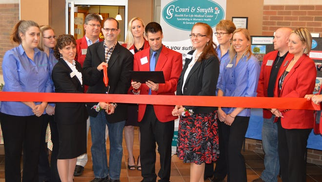 A ribbon cutting ceremony and open house was held April 28 at Couri & Smyth Health For Life Medical Center, Weston.