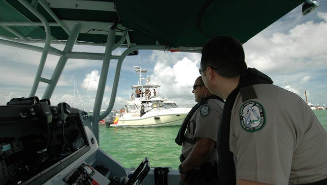 Fish and Wildlife Commission officers will be patrolling the water cracking down on boating under the influence.