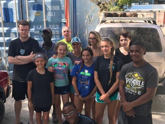 Stranded in Haiti