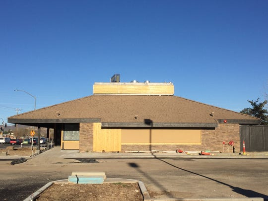 The former Carrows restaurant at East Plumb and Kietzke Lanes is being renovated into Redwood Rotisserie.