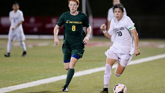 Reynolds (No. 2 state ranked) and Asheville (No. 3) tied 3-3 in overtime Tuesday in arguably the biggest match of the year in WNC.