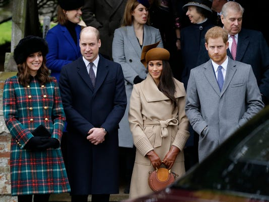 AP BRITAIN ROYALS CHRISTMAS I ENT GBR