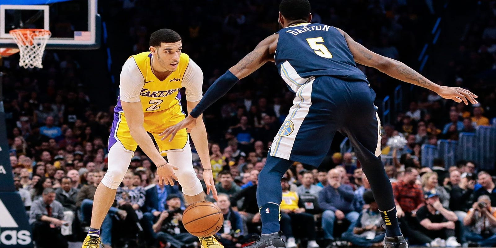 f051ac622 NBA rookie rankings  Lonzo Ball gaining confidence after injury