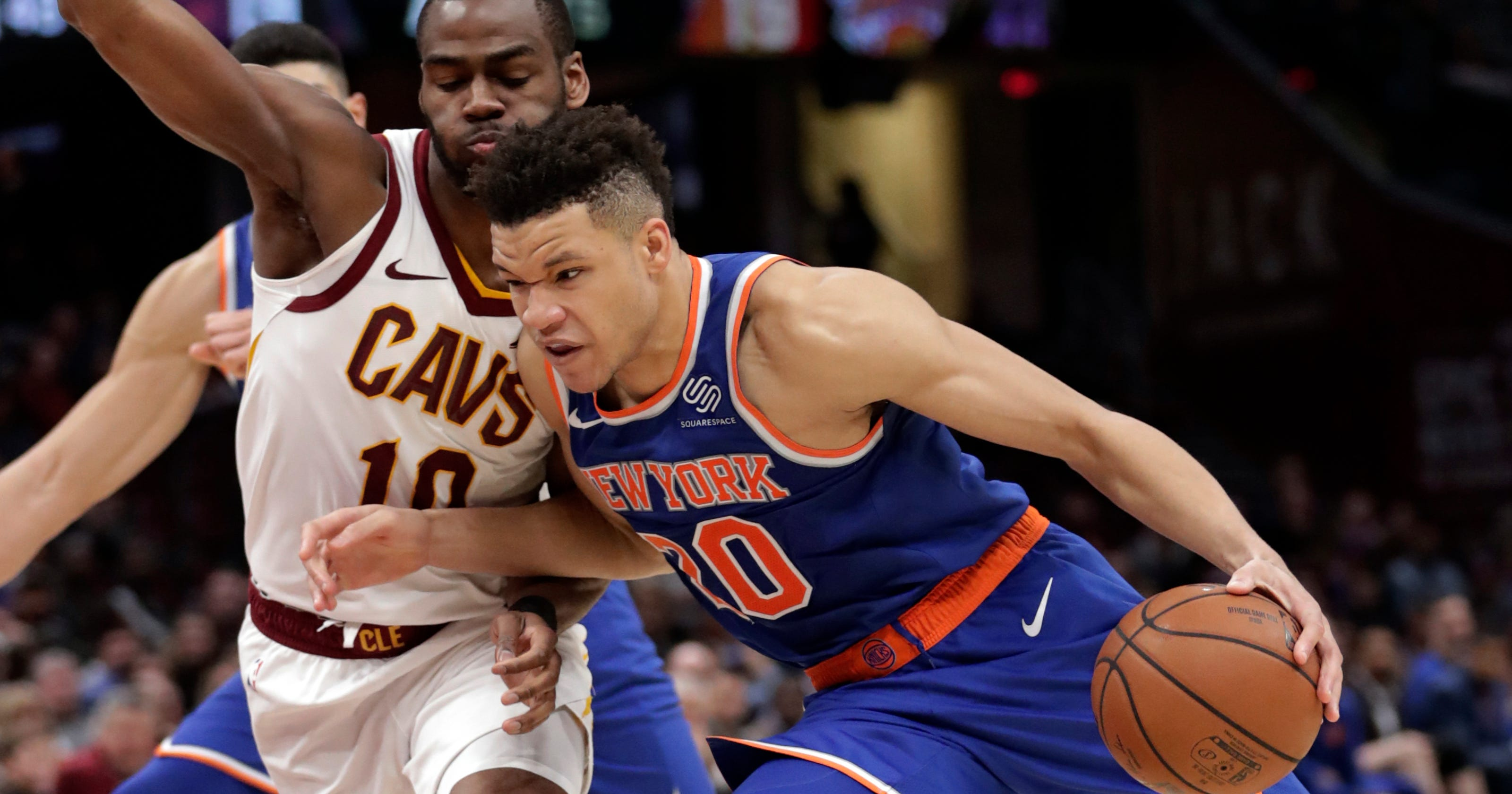 25fd77c14c2  New York s going to be popping   New York Knicks  Kevin Knox excited to  play on Christmas