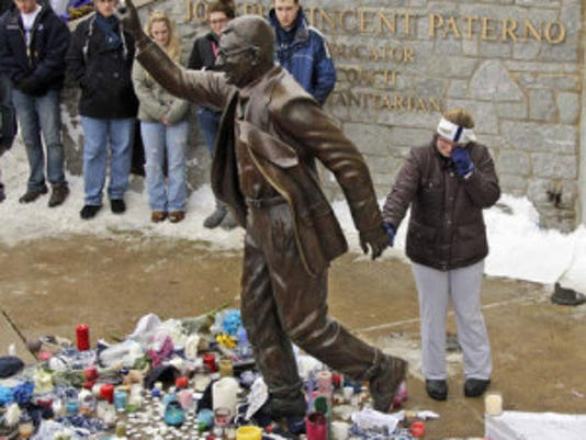 Exhibit A: Paterno statue debate