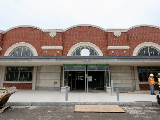 The design of the new Rochester train station, 320 Central Ave., resembles that of stations in the past.