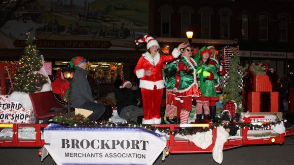Brockport parade.