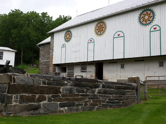 This Pennsylvania Dutch bank barn will be featured
