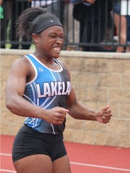 After running an all-class record in the 100-meter